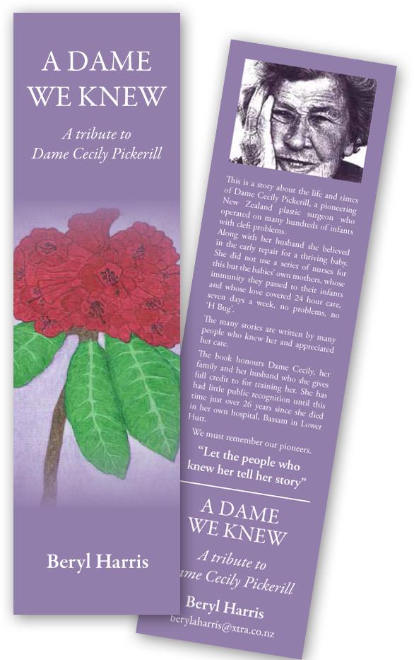 Bookmark (Front & back)