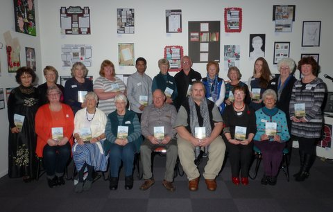 History Write Now Contributers at the book launch at Papakura Library